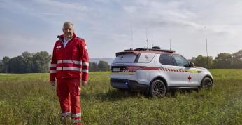 Land Rover Discovery zmieniony w mobilne centrum ratunkowe