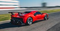 Ferrari P80/C - imponujące jednorazowe superauto na tor