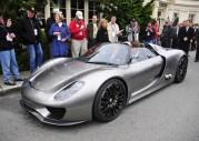 Nowe Porsche 918 Spyder w Monterey