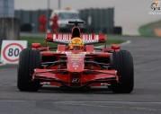 Valentino Rossi testuje Ferrari