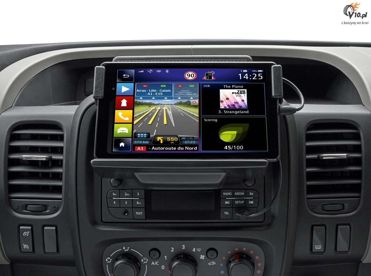 Double 2-din Radio Panel ISO Adapter Antenna for Opel Vivaro from 2011-2015 Set