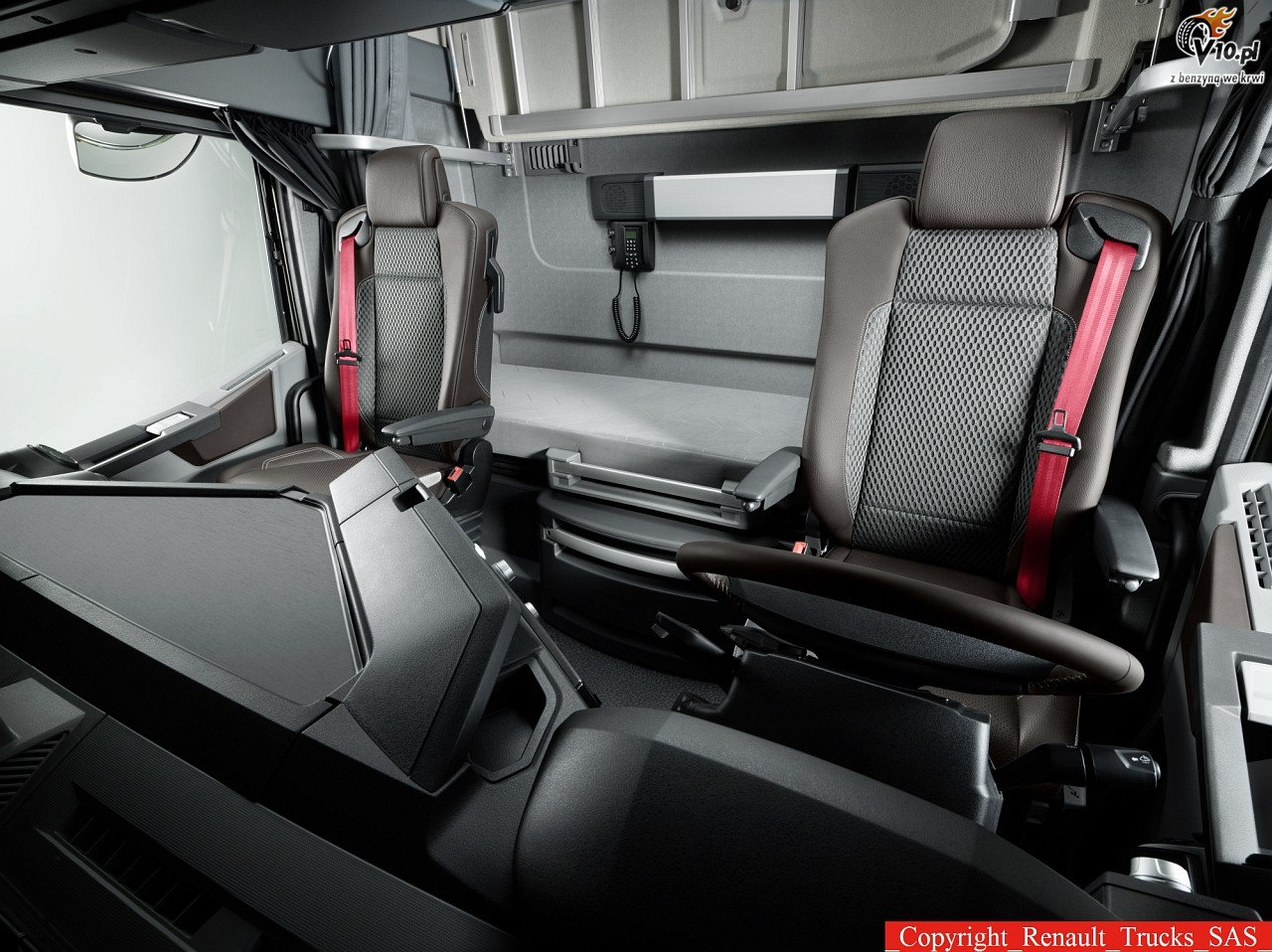 Renault range t 12 for Renault gamme t interieur
