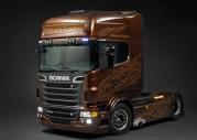 Scania V8 Black Amber