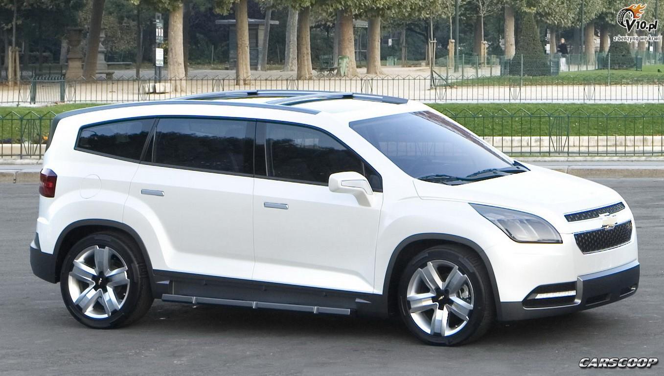 Chevrolet Orlando Minivan Concept Audi Usa
