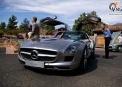 Mercedes SLS AMG Gullwing - zlot