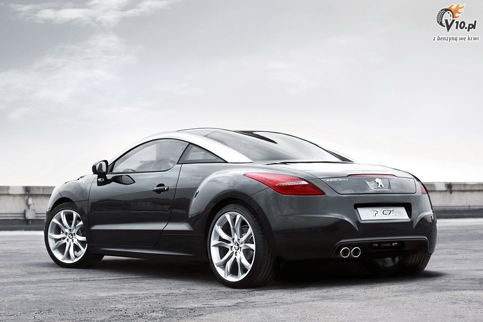 nowy peugeot rcz coupe 06. Black Bedroom Furniture Sets. Home Design Ideas