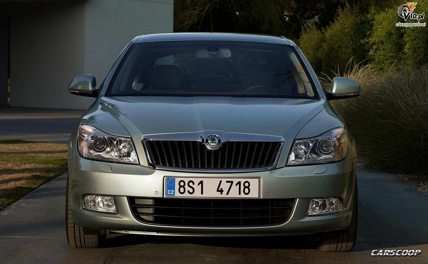 Audi A6 po face liftingu [60] Nowa Skoda Octavia Kombi - jeszcze