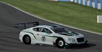 Bentley Continental GT3 na filmie z rFactora 2