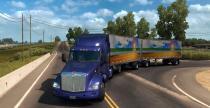 American Truck Simulator - twórcy odwzorują osuwisko ziemi z Kalifornii