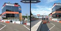 Assetto Corsa Competizione - porównanie wirtualnego toru Zolder z prawdziwym