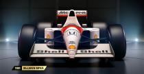 Cztery historyczne McLareny w F1 2017