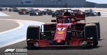 F1 2018 - pierwszy dziennik dewelopera