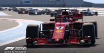 F1 2018 - gameplay z toru Hockenheimring i zmienne reguły techniczne