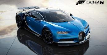 Forza Motorsport 7 - dodatek Dell Gaming Car Pack z Bugatti Chironem