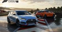 Hyundai Veloster i Veloster N zadebiutowały za darmo w Forza Motorsport 7
