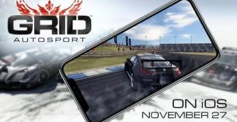GRID Autosport debiutuje w wersji na iOS