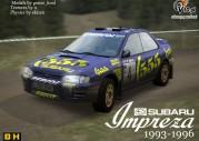 Subaru Impreza 555 w Richard Burns Rally