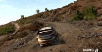 WRC 8 - przejazd nocnego odcinka w ulewie na nowym gameplay'u