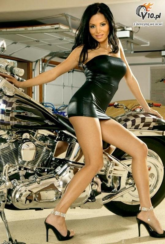 Dziewczyny Motory Motocykle 06