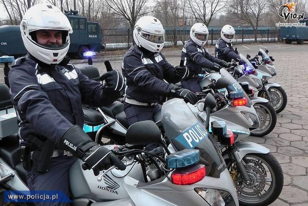 Honda cbf 1000a policja 01