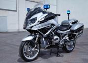 BMW R1200RT, F700GS i F800GS w policyjnych barwach
