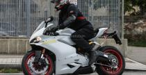 Ducati 959 Panigale przy�apane podczas test�w w Bolonii