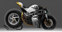 Ducati Monster jest zimoodporny i gotowy do szale�stw po lodzie