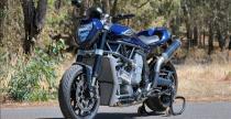 Motocykl z dwoma silnikami Yamahy R1 - takie rzeczy tylko w Australii