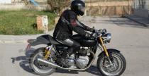 Nowy Triumph Cafe Racer wy�ledzony w Hiszpanii
