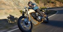 Yamaha XV950 Playa del Rey by Matt Black
