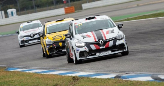 Albert Legutko w Renault Clio Cup Central Europe
