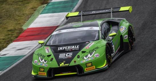 Karol Basz w Mistrzostwach Włoch GT