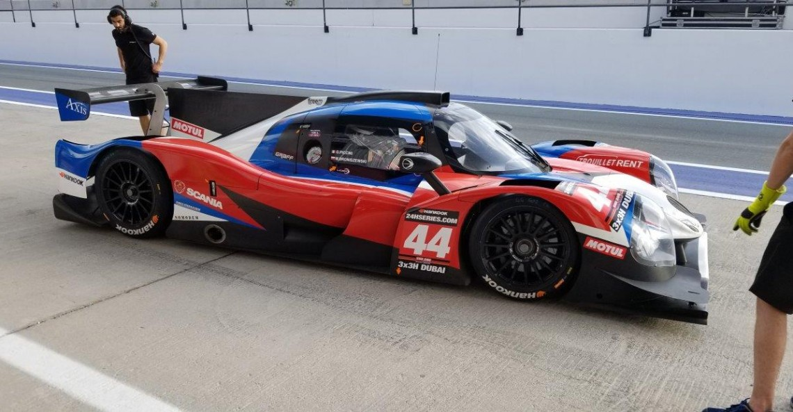 Broniszewski debiutuje w prototypie - zapowiedź wyścigu w Dubaju