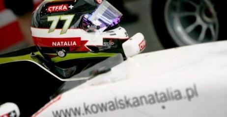 Formuła 2 - Natalia Kowalska zalicza doskonały przejazd