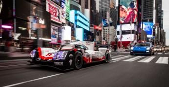Porsche LMP1 przejechało się ulicami Nowego Jorku (wideo)
