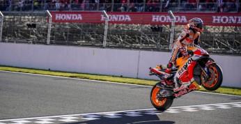 Weekend w motorsporcie: Marquez po raz piąty mistrzem świata MotoGP