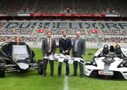 Race of Champions 2010 w Dusseldorfie - podział na grupy