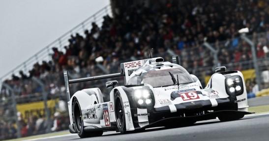 Nico Hulkenberg w Porsche LMP1