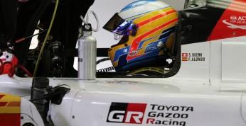Alonso o Toyocie LMP1: Przyspiesza jak rakieta kosmiczna