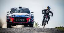 Samochód WRC vs rower MTB (wideo)