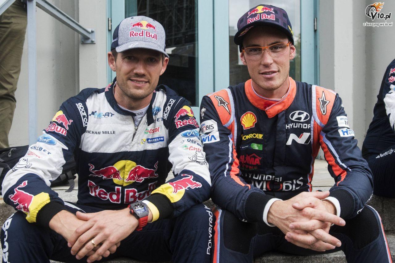 WRC: Neuville uwa�a, �e wci�� jest bli�ej mistrzowskiego tytu�u ni� Ogier