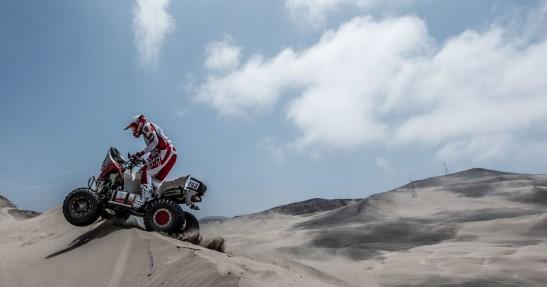 Rajd Dakar - Sonik złamał nogę i się wycofał