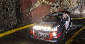 WRC: Neuville pierwszym liderem Rajdu Meksyku, Loeb zamyka...