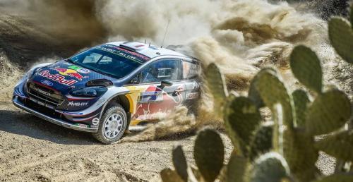 WRC: Ogier blisko wygranej w Meksyku po kapciach Loeba i Sordo