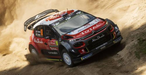 WRC: Konstrukcja samochodu Citroena 'uratowała' Meeke'a i jego pilota podczas wypadku w Rajdzie Portugalii