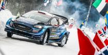 WRC: Suninen minimalnie prowadzi w Szwecji, wypadek Ogiera