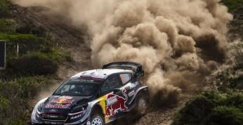 WRC: Kara utraty punktów dla Ogiera - w zawieszeniu