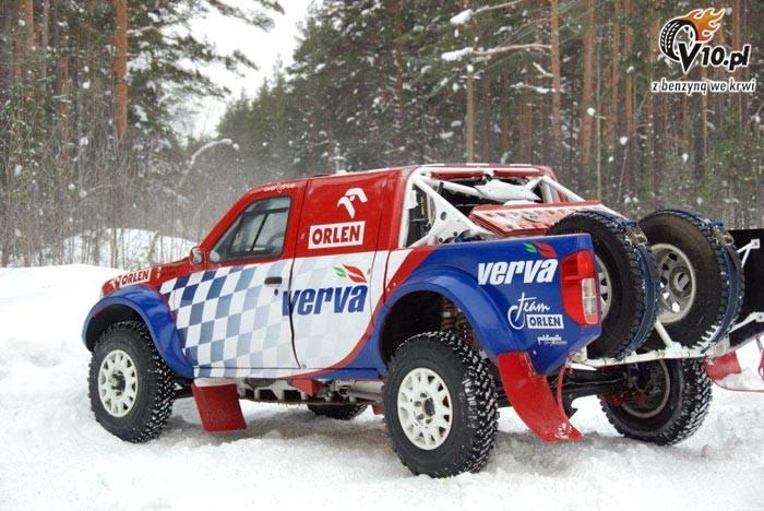 Krzysztof Holowczyc Nissan Navara Snow