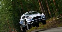 Rajd Finlandii: Ogier pr�buje goni� za Latval�