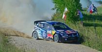 Rajd Polski: Tanak wraca do TOP3, Kubica wci�� szybko